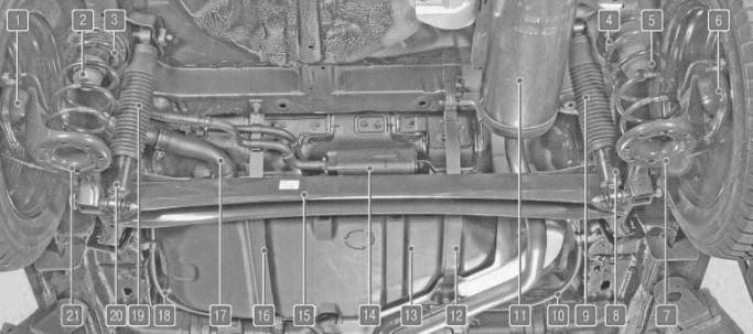 Основные агрегаты автомобиля Hyundai Solaris