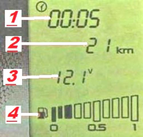 Штатный бортовой компьютер Lada Granta
