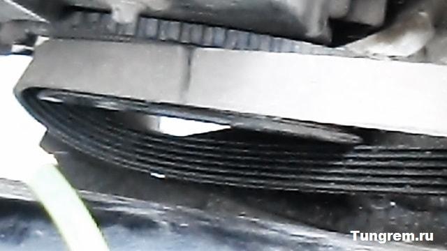 Remen na bolshoy shkif kalina - Установка генератора лада калина