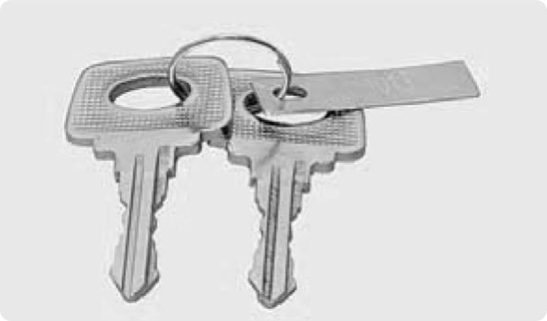 Ключи к автомобилю, иммобилайзер и система дистанционного управления электропакетом Lada Priora